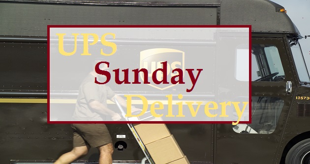 Does UPS deliver on Sunday