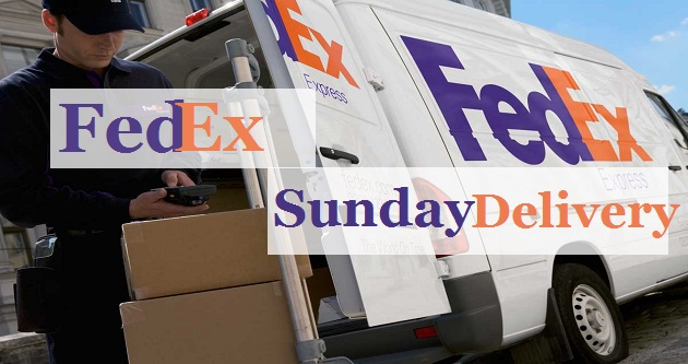 FedEx Sunday Delivery