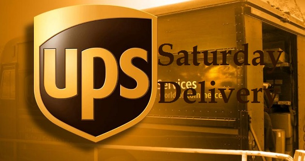 Does Ups Ship On Saturday >> UPS Saturday Delivery & Hours | Delivery and Pickup Time