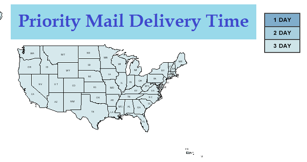 mail delivery time