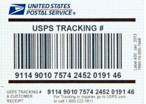 USPS Lost Tracking Number