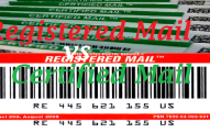 Certified mail vs Registered mail