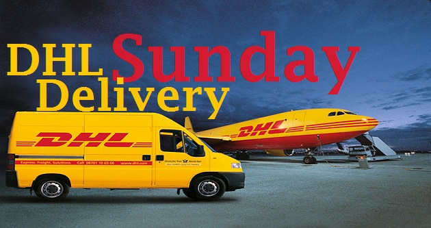 Does DHL deliver on Sundays