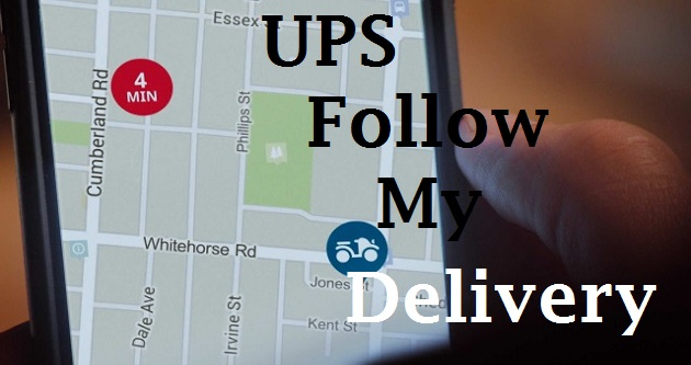 Follow my delivery