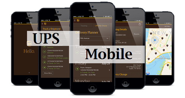 UPS Mobile application