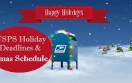 USPS Holiday Schedule 2017