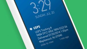 USPS text tracking
