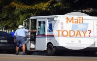 Is There mail delivery today