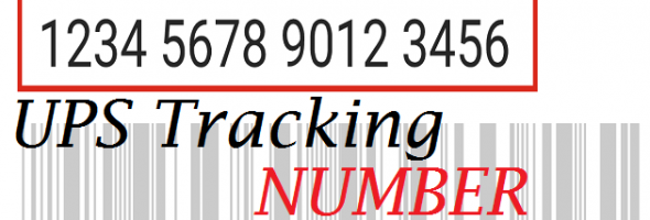 UPS tracking number 1