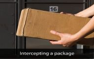 USPS Package Intercept